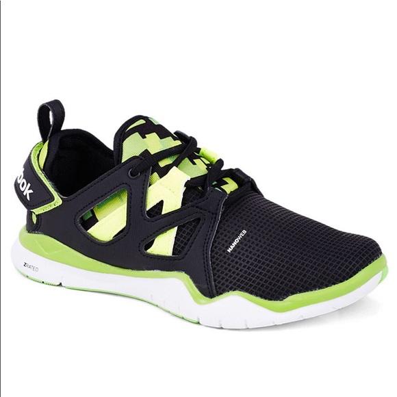 98cb7715cd861c Reebok ZRated Nanoweb Dark Grey   Yellow Sneakers.  M 5a7cd8fa3afbbd98e4a3612e